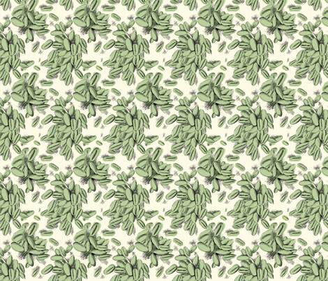 Barley (mint) fabric by phillip_markel on Spoonflower - custom fabric
