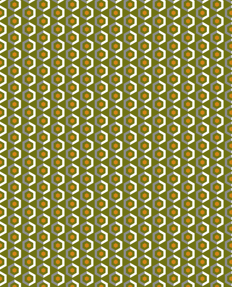 UMBELAS HEXO 6 fabric by umbelas on Spoonflower - custom fabric