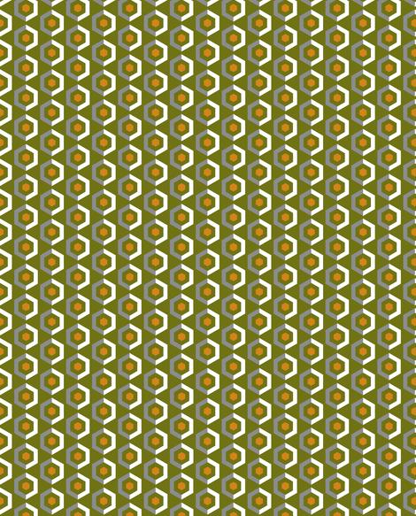UMBELAS HEXO 6 fabric by umbelas on Spoonflower - custom fabric