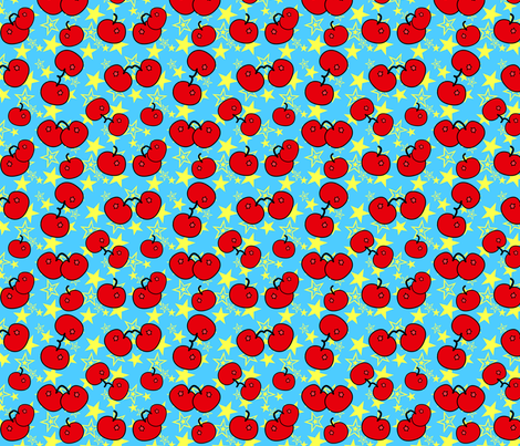 Cherry Bomb fabric by mystikel on Spoonflower - custom fabric