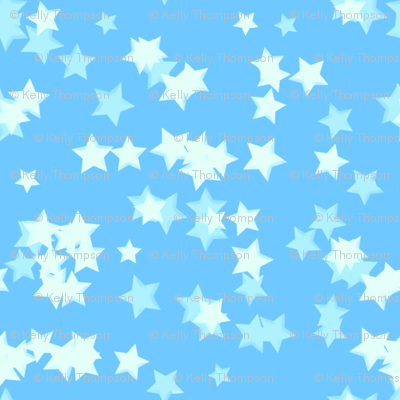 Baby Blue Sparkles