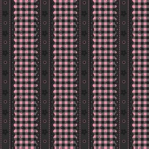 Girly Goth Gingham