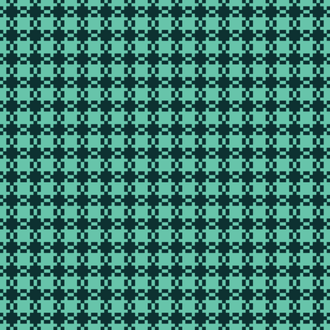Gingham in Green fabric by gimlet on Spoonflower - custom fabric