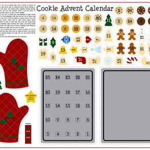 Cookie Advent Calendar