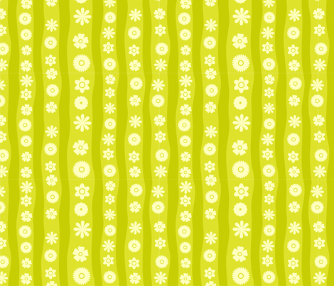 Vector Seamless Flowers fabric by anastasiia-ku on Spoonflower - custom fabric
