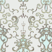 Damask Large scale