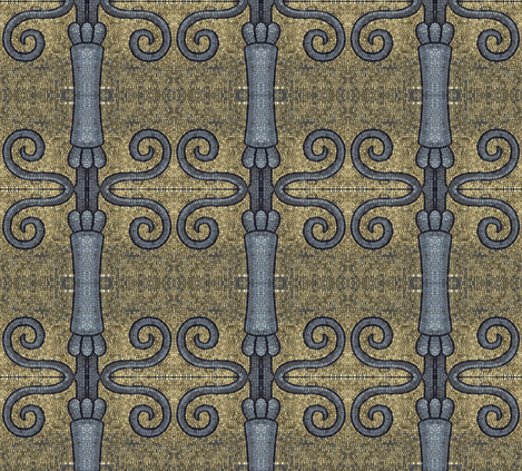 Medieval Hardware fabric by susaninparis on Spoonflower - custom fabric