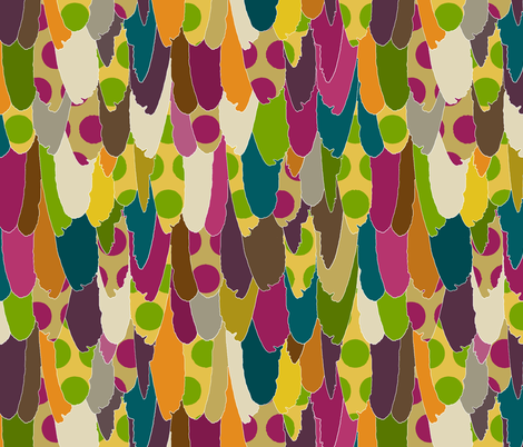 mad bird fabric by scrummy on Spoonflower - custom fabric