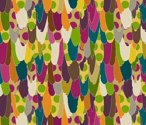 mad bird fabric by scrummy on Spoonflower - custom fabric