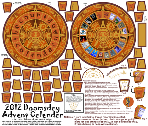 2012 Doomsday Advent Calendar
