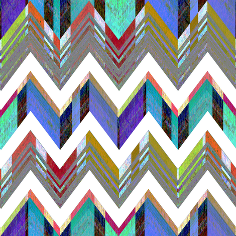 Zig Zag Bold fabric by joanmclemore on Spoonflower - custom fabric
