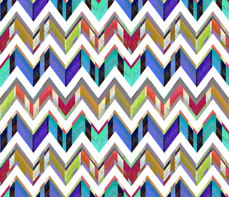 Chevron Fizz fabric by joanmclemore on Spoonflower - custom fabric