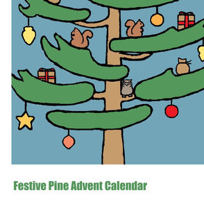 Festive Pine Advent Calendar