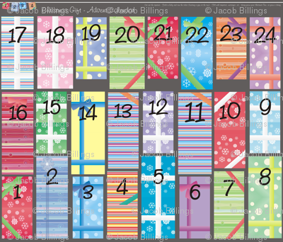 24 Gifts Before Christmas... Advent Calendar