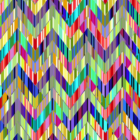 Zig Zag Dizzy fabric by joanmclemore on Spoonflower - custom fabric