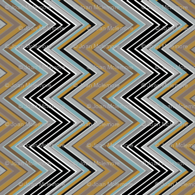 Zig Zag Vertical earth tone