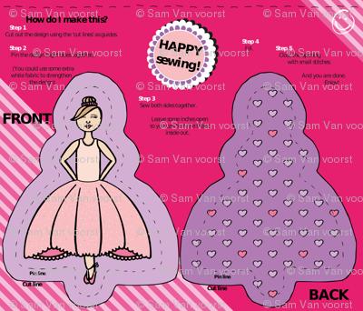 Ballerina Plushie