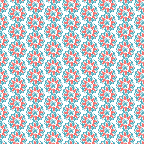 Little mandala fabric by kezia on Spoonflower - custom fabric