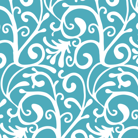 Swirly wirly fabric by kezia on Spoonflower - custom fabric
