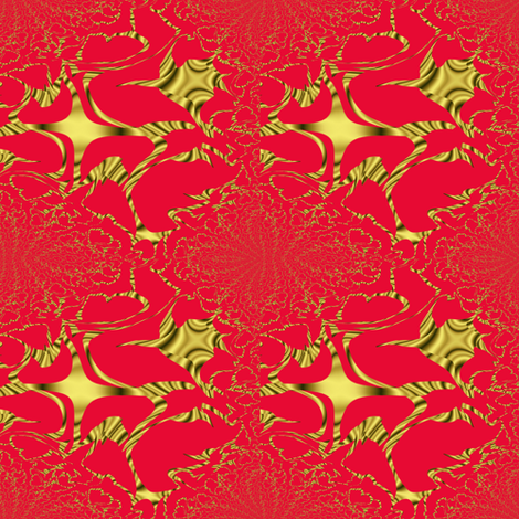 SANTINA fabric by angelgreen on Spoonflower - custom fabric