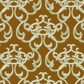 Damask Brown
