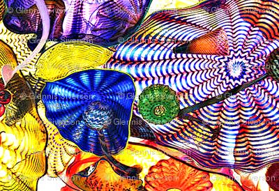 Glass in Jewel Tones