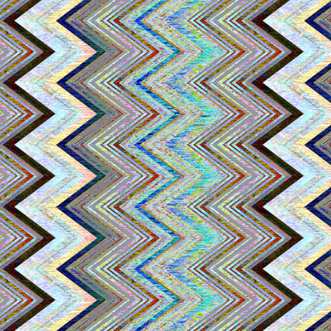 Chevron Luminous fabric by joanmclemore on Spoonflower - custom fabric
