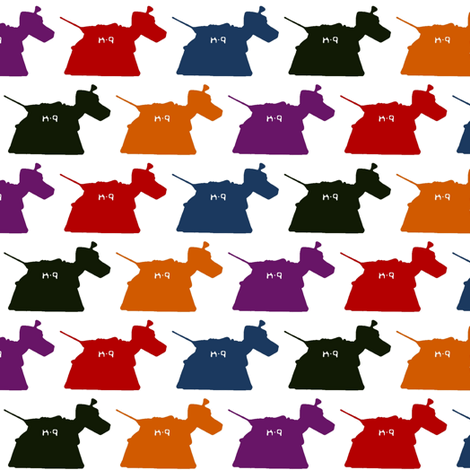 tin dog fabric by scrummy on Spoonflower - custom fabric