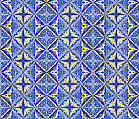 Blue_Holland fabric by koalalady on Spoonflower - custom fabric