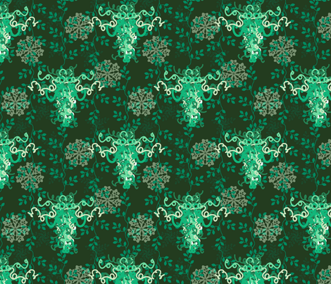BorGaGa-Chandelier fabric by deesignor on Spoonflower - custom fabric