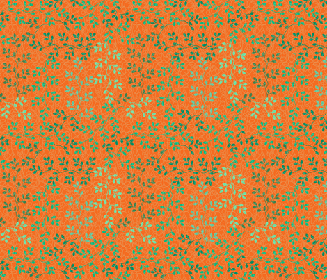 BorGaGa-Vines fabric by deesignor on Spoonflower - custom fabric