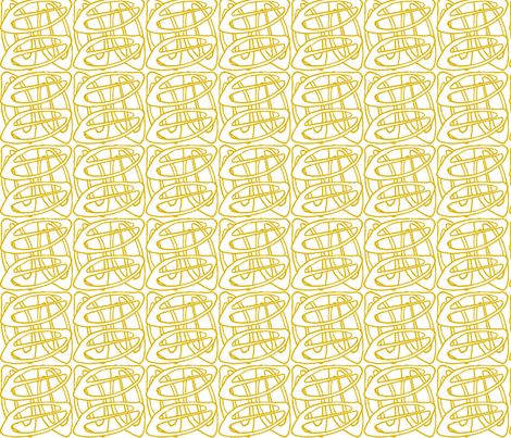 Yello, Seedy fabric by maeula on Spoonflower - custom fabric