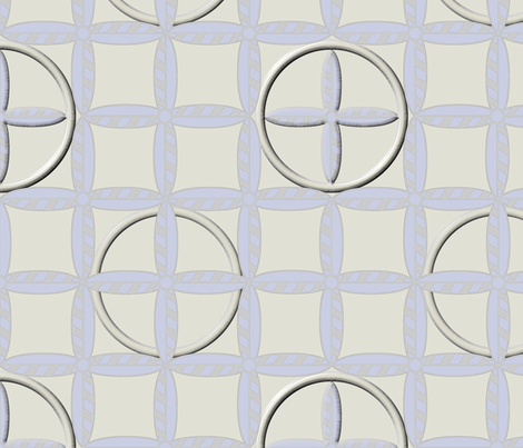 Hoops in Ivory Frost fabric by glimmericks on Spoonflower - custom fabric