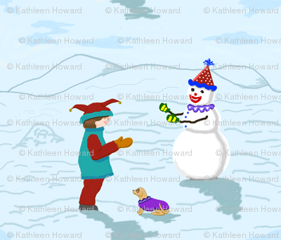 Clowns_Boy__Snowman_and_dog_revise_colors