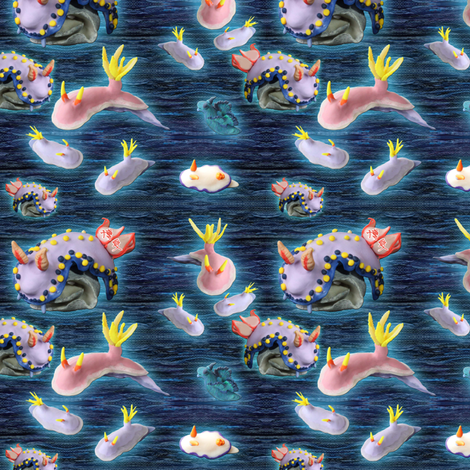 Ditzy nudies fabric by hakuai on Spoonflower - custom fabric
