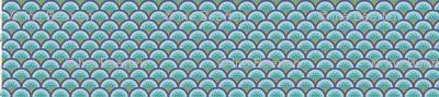 Koi No Bori (Japanese Koi Fish Kites) scales BLUE