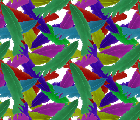 Parrot Fight fabric by nezumiworld on Spoonflower - custom fabric