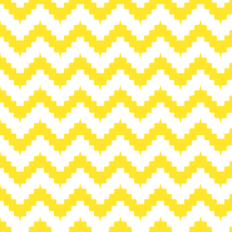 chevronyellow fabric by ravynka on Spoonflower - custom fabric