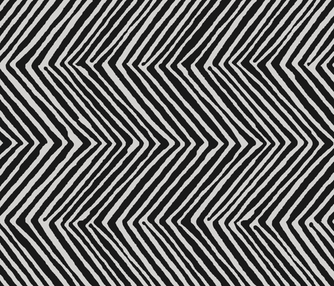 Chevron_Black_copy fabric by julie_maclean on Spoonflower - custom fabric