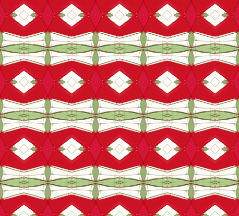 Holiday Origami- Deco Style fabric by susaninparis on Spoonflower - custom fabric