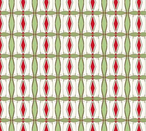 Holiday Origami- Creeper Style, small fabric by susaninparis on Spoonflower - custom fabric
