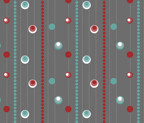 festive stripe fabric by mrshervi on Spoonflower - custom fabric