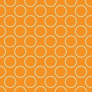 Orange Circles - Small scale