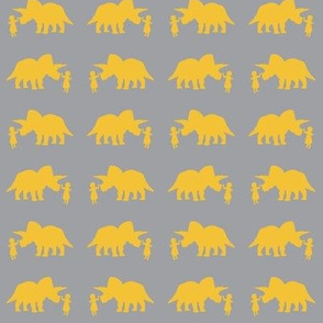 Pet Triceratops (Gray/small scale)