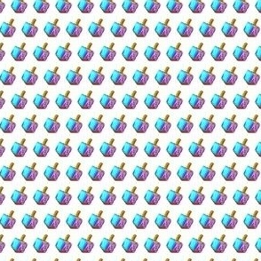 Blue-Purple Dreidels