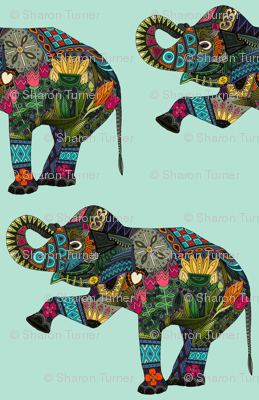 asian elephant aqua
