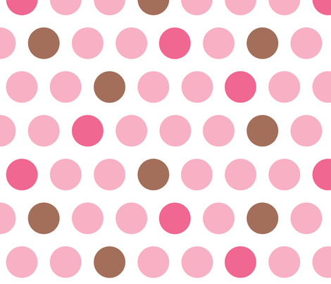 Big dots fabric by sew-me-a-garden on Spoonflower - custom fabric