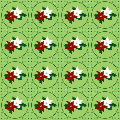 Rrpoinsettia_pair_of_seasonal_flowers_-_green_-_2012_tara_crowley_shop_preview