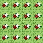 Rrpoinsettia_pair_of_seasonal_flowers_-_green_-_2012_tara_crowley_shop_thumb