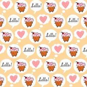 Hello Cupcake (Cream)